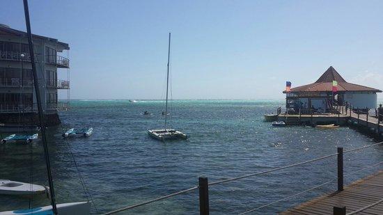 Decameron Aquarium: Vista del mar