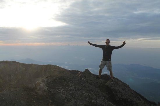 Mount Agung: At the top