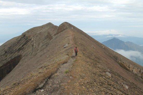 Mount Agung: Going down