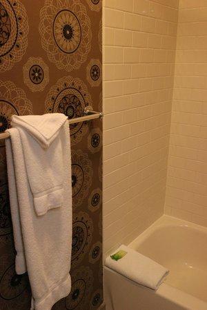 Holiday Inn Express Hotel Cass: Bathroom