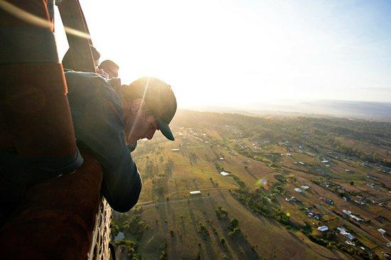 Hot Air Balloon Gold Coast: our pilot :))