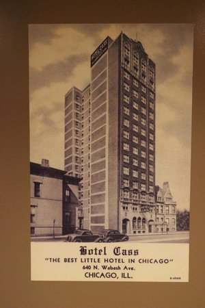 Holiday Inn Express Hotel Cass: Poster for the original Hotel Cass