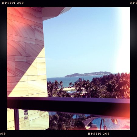 Doubletree Resort by Hilton Hotel Sanya Haitang Bay : View from Room in 5700s