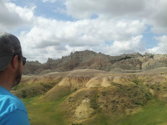 Badlands Wall: Miles and miles of views like this