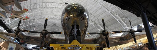 Smithsonian National Air and Space Museum Steven F. Udvar-Hazy Center: Enola Gay