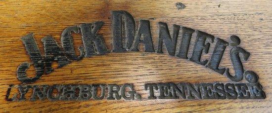 Jack Daniel's Distillery: Barrel Stamp