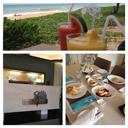 Maikhao Dream Villa Resort and Spa: Spa, drinks by the beach and delicious room service (thanks to chief) you can order anything in