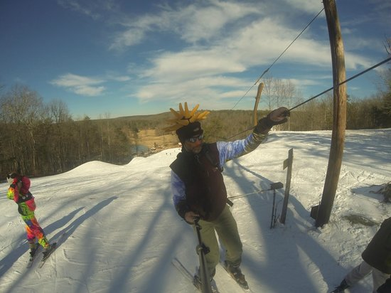 Cloudmont Ski Resort: Selfie