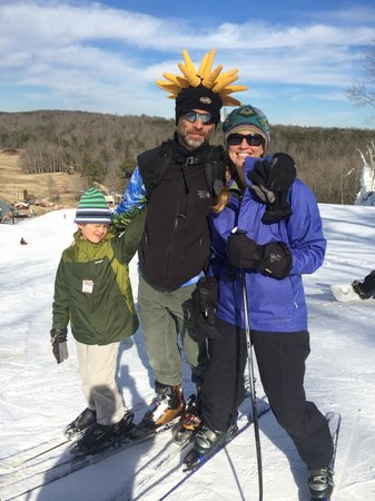 Cloudmont Ski Resort: Family Pic