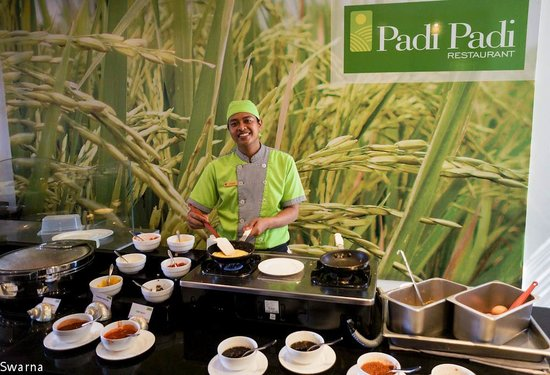 Park Regis Kuta Bali: Breakfast Area
