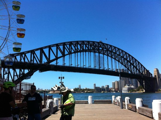 Bike Buffs - Sydney Bicycle Tours: nice view
