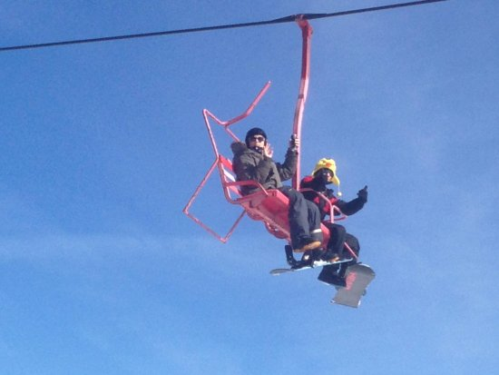 Ober Gatlinburg Amusement Park & Ski Area : Kids loved snowboarding