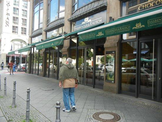 Fassbender & Rausch Chocolatiers am Gendarmenmarkt: Loja do lado de fora