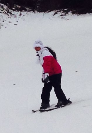 "Ober Gatlinburg Amusement Park & Ski Area : My wife ""warming up"" on Alpine..."