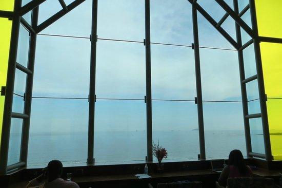 JW Marriott Hotel Rio de Janeiro: Executive Lounge window with ocean view