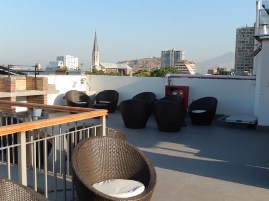 Hotel Loreto: Top Floor Deck