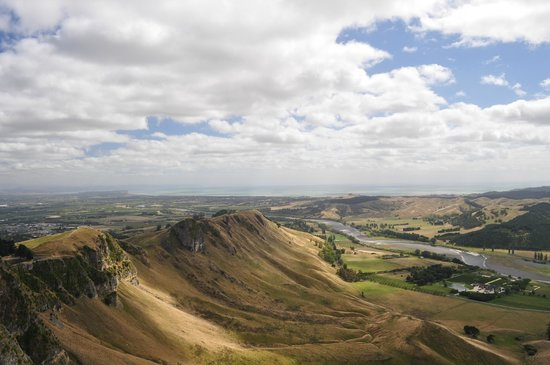 Te Mata Peak: looking North