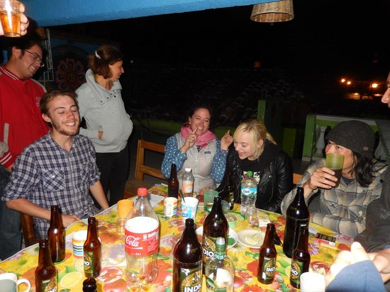 Iguana Hostel: Birthday party for one of the staff