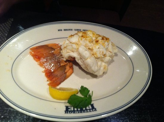 Pittsburgh Blue Steakhouse : lobster tail