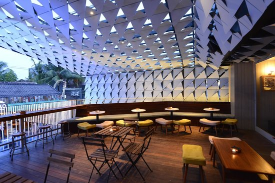 Second level bar - This photo of Ize Seminyak, Bali is courtesy of TripAdvisor