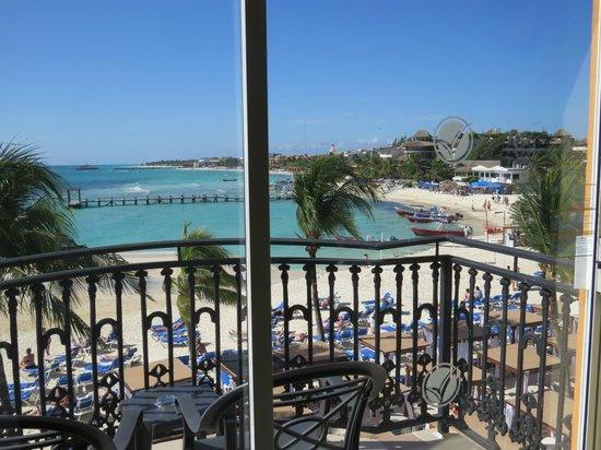 Gran Porto Resort: Beach View from Rm. 337