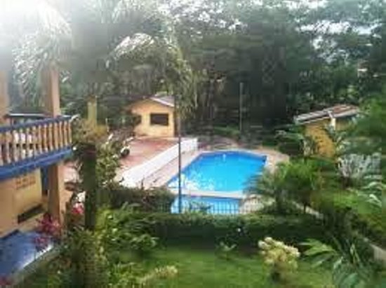 Mayol Lodge: View of pool from 2nd Floor