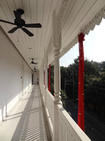 Ping Nakara Boutique Hotel & Spa : hallway