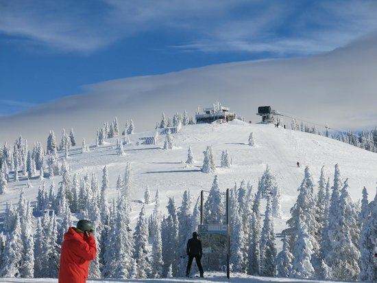 Steamboat Ski Resort: View from Mountain
