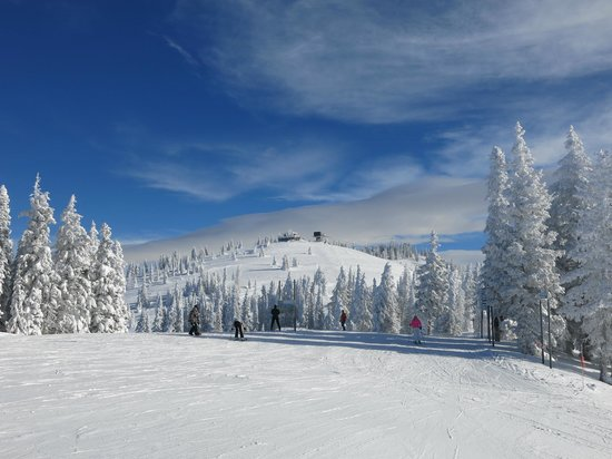Steamboat Ski Resort: View from the Mountain