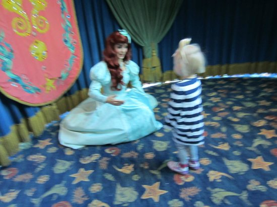 Ariel's Grotto: Finally our turn