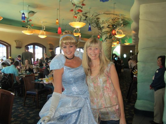Ariel's Grotto: Pair of Blondes