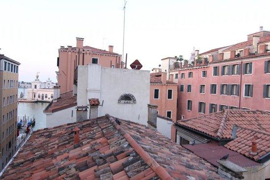 Hotel Lisbona : Hidden terrace