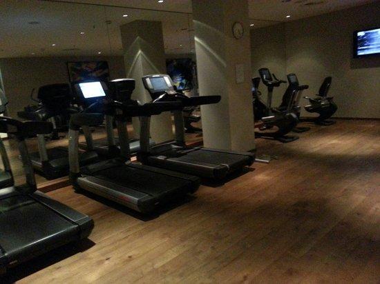 Hyatt Regency Mainz: Fitnes room