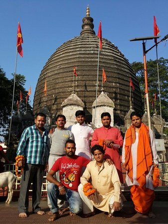 Kamakhya Temple : Situ Sharma, Rinku, Satyawan, Panday, Gagan, Vicky, Krishan.