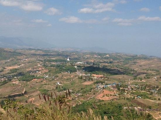 Khao kho memorial: great view from lookout