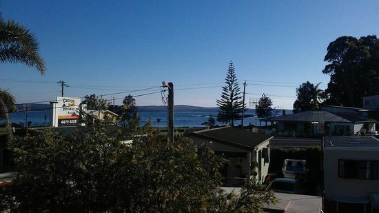 Caseys Beach Holiday Park: Our view.