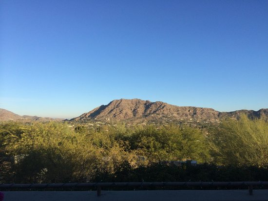 Sanctuary Camelback Mountain : view from meetin room