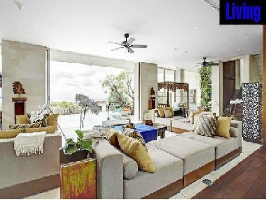Tigadis Villa: Living room