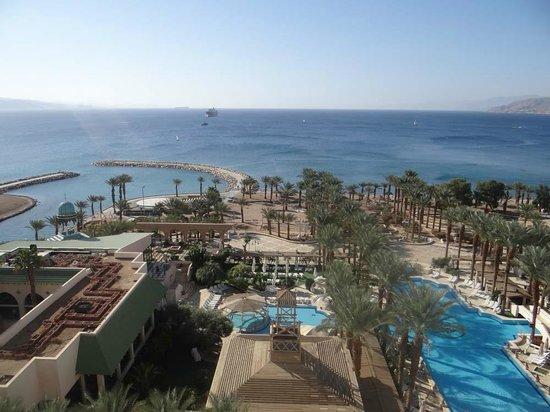 Herods Palace Hotel Eilat: Вид из номера