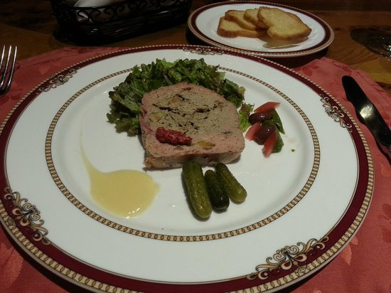 Restaurante Grano de Oro: Paté de Campagne