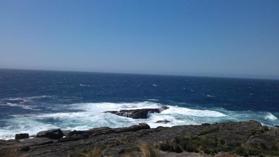 Green Cape Lighthouse : Looking out into the horizon
