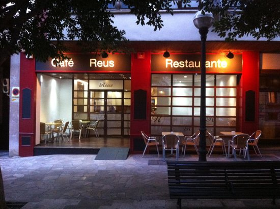 Fachada nueva picture of restaurante reus palma de for Fachadas de restaurantes modernos