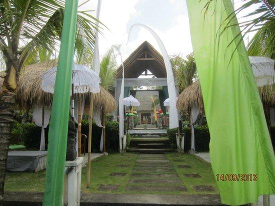 The Mansion Resort Hotel & Spa: garden area