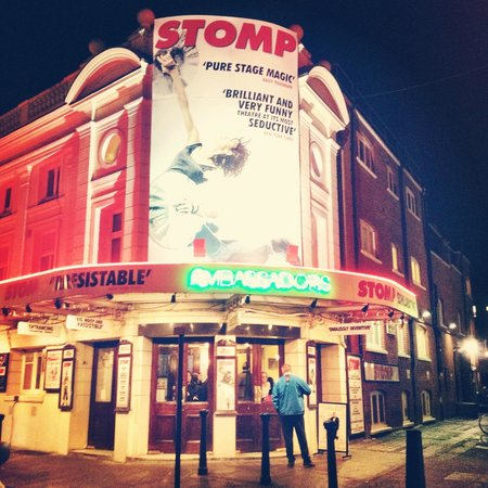 STOMP show at the Ambassador's theater