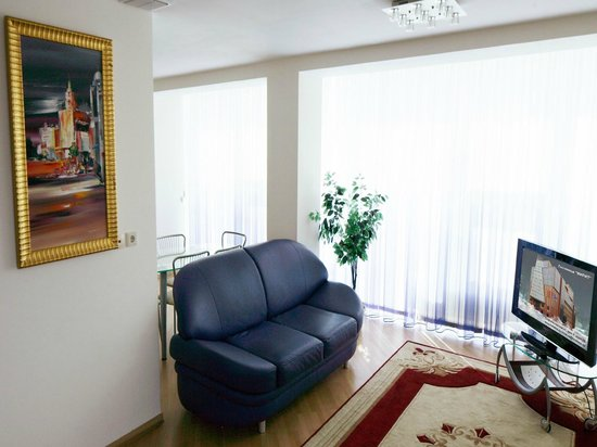 MIRIT Hotel : Апартаменты холл