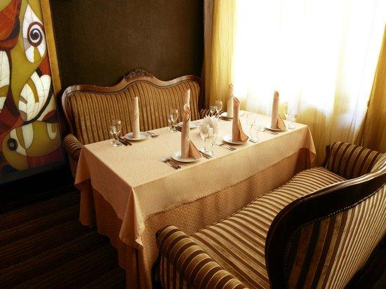 MIRIT Hotel: Вип зал ресторана