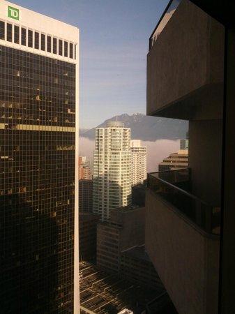 Hyatt Regency Vancouver: View from living room