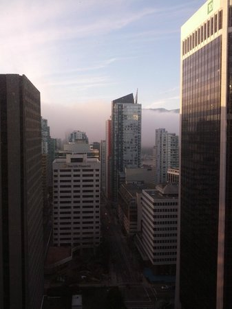 Hyatt Regency Vancouver: another view from living room windows
