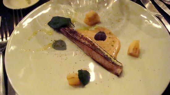 La Buvette : Maquereau, poire de terre et shiso