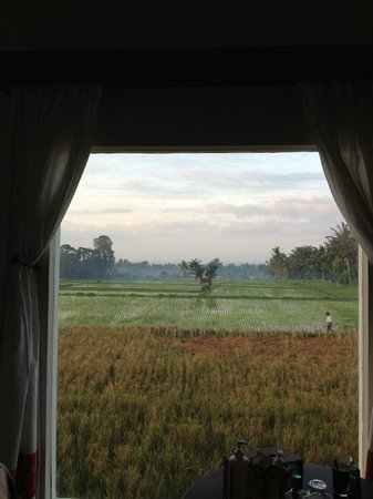 By Dorry Bed & Breakfast: The view from our room at By Dorry